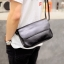พร้อมส่ง ขายส่ง กระเป๋าผู้ชาย สะพายข้าง Messenger bag สะพายเที่ยว ใส่ipad 10 นิ้ว แฟชั่นเกาหลี รหัส Man-5209 สีดำ thumbnail 1