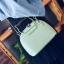 ขายส่งกระเป๋าผู้หญิง ถือและสะพายข้างใบเล็ก หูจับแมว แฟชั่นเกาหลี Fashion รหัส NA-564 สีเขียว thumbnail 1