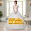 ชุดแต่งงานราคาถูก เกาะอก ws-060 pre-order (สินค้าราคาโปรโมชั่นเดือน5) thumbnail 1