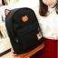 ขายส่ง กระเป๋าเป้ผ้าสะพายหลัง เป้นักเรียน School bag แต่งหูแมว แฟชั่นเกาหลี รหัส G-370 สีดำ thumbnail 1