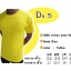 COTTON100% เบอร์20 เสื้อยืดแขนสั้น คอกลม สีเหลือง thumbnail 1