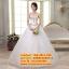 ชุดแต่งงานราคาถูก กระโปรงสุ่มประดับพลอย ws-2017-035 pre-order thumbnail 1