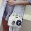 ขายส่ง กระเป๋าผู้หญิงสะพายข้างใบเล็ก ทรงขนมจีบสายสะพายโซ่ แฟชั่นเกาหลี TIANCAI รหัส G-653 สีขาว thumbnail 1
