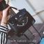 ขายส่งกระเป๋าถือและสะพายข้างผู้หญิง หน้ายิ้ม แฟชั่นเกาหลี Fashion bag รหัส DU-012 สีดำ thumbnail 1