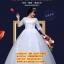 ชุดแต่งงานคนอ้วน กระโปรงลายเถาวัลย์ WL-2017-P003 Pre-Order (เกรด Premium) thumbnail 1