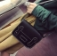 พร้อมส่ง ขายส่ง กระเป๋าสะพายข้างทรงกล่องแต่งเข็มขัด แบบย้อนยุคแฟชั่นเกาหลี รหัส NA-099 สีดำ thumbnail 1