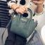 ขายส่งกระเป๋าผู้หญิง ถือและสะพายข้างใบเล็ก แฟชั่นเกาหลี Fashion รหัส NA-365 สีเขียว thumbnail 1