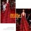 ชุดแต่งงาน [ ชุดพรีเวดดิ้ง ] PD-052 กระโปรงยาว สีแดง (Pre-Order) thumbnail 1