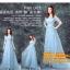 ชุดแต่งงาน [ ชุดพรีเวดดิ้ง ] PD-017 กระโปรงยาว สีฟ้า (Pre-Order) thumbnail 1