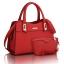 ขายส่ง กระเป๋าผู้หญิงถือและสะพายข้าง เซ็ต 2 ใบ แฟชั่นยุโรป Sunny-714 แท้ สีแดง thumbnail 1