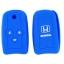 WASABI ซิลิโคนกุญแจ Honda Accord 2009-2012,Civic FB (สีน้ำเงิน) แถมฟรี ผ้าไมโครไฟเบอร์ อย่างดี 1 ผืน thumbnail 2