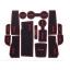 WASABI ซิลิโคน ปูพื้นผิว คอนโซล Cruze (สีดำ) thumbnail 1