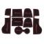 WASABI ซิลิโคนปูพื้นผิวคอนโซล รุ่น Cayenne (สีดำ) thumbnail 1