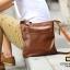 พร้อมส่ง กระเป๋าสะพายข้างผู้ชายแฟขั่นเกาหลี ใส่ ipad 9.7 ได้ รหัส Man-032 สีน้ำตาล thumbnail 3