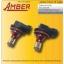 Amber ไฟหน้า Led 57 ดวง super bright H8 สีขาว 6.3 วัตต์ (แพ็คคู่) thumbnail 1