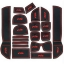 WASABI ซิลิโคน ปูพื้นผิว คอนโซล Jazz'10 (สีดำ) thumbnail 1