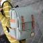 พร้อมส่ง กระเป๋าเป้ผ้า สะพายหลังนักเรียน วัยรุ่น นักศักษา เป้เดินทาง แฟชั่นเกาหลี รหัส G-635 สีเขียว thumbnail 1