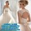 ชุดแต่งงาน แบบเกาะอก w-028 Pre-Order thumbnail 1