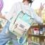 พร้อมส่ง กระเป๋าเป้ผ้าสะพายหลัง นักเรียน เป้ใบใหญ่ ผู้หญิงแฟชั่นเกาหลี รหัส NA-719 สีเขียวอ่อน thumbnail 1