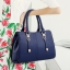 พร้อมส่ง กระเป๋าผู้หญิงถือและสะพายข้าง เรียบหรู แฟชั่นสไตล์ยุโรป รหัสKO-256 สีน้ำเงิน thumbnail 2