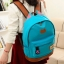 ขายส่ง กระเป๋าเป้ผ้าสะพายหลัง เป้นักเรียน School bag แต่งหูแมว แฟชั่นเกาหลี รหัส G-370 สีฟ้า thumbnail 1