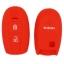 WASABI ซิลิโคนกุญแจ Suzuki Swift (สีแดง) แถมฟรี ผ้าไมโครไฟเบอร์ อย่างดี 1 ผืน thumbnail 2