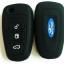 WASABI ซิลิโคนกุญแจ FORD RANGER (สีดำ) แถมฟรี ผ้าไมโครไฟเบอร์ อย่างดี 1 ผืน thumbnail 2