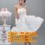 ชุดแต่งงานราคาถูก กระโปรงสั้นผูกโบว์ ws-2017-030 pre-order thumbnail 1