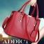 พร้อมส่ง กระเป๋าผู้หญิง ถือและสะพายข้างแฟชั่นสไตล์ยุโรป เรียบหรู รหัส KO-387 สีแดง thumbnail 1