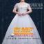 ชุดแต่งงานคนอ้วน แขนกุดลายลูกไม้ WL-2017-P012 Pre-Order (เกรด Premium thumbnail 1