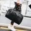 พร้อมส่ง ขายส่ง กระเป๋าผู้ชายถือและสะพายข้าง กระเป๋าเดินทาง ใส่คอมพิวเตอร์แฟขั่นเกาหลี รหัส Man-634 สีดำ thumbnail 1