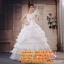 ชุดแต่งงานราคาถูก ไหล่เดี่ยวเป็นลอน ws-2017-024 pre-order thumbnail 1