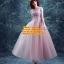 ชุดแต่งงาน [ ชุดพรีเวดดิ้ง ] PD-033 กระโปรงยาว สีม่วง (Pre-Order) thumbnail 1