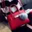 ขายส่งกระเป๋าผู้หญิง สะพายข้างใบเล็ก แต่งเข็มขัดล๊อค สไตล์แบร์น แฟชั่นเกาหลี Fashion bag รหัส DU-014 สีแดง thumbnail 1