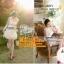 ชุดแต่งงาน [ ชุดพรีเวดดิ้ง ] PD-007 รัดรูป สีขาว (Pre-Order) thumbnail 1