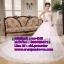 ชุดแต่งงานราคาถูก เกาะอก ws-043 pre-order thumbnail 1