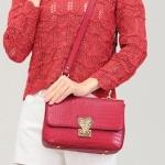 พร้อมส่ง กระเป๋าสะพายข้างแฟชั่นเกาหลี Axixi-11999 แท้ สีแดง 1 ใบ