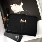 กระเป๋าสตางค์ แบรนด์ Keep รุ่น Classic short wallet bag มี 6 สี ดำ น้ำตาล กรม เทา แดง ทอง