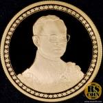 เหรียญกษาปณ์ทองคำขัดเงา-โฮโลแกรม เหรียญกษาปณ์ที่ระลึกพระราชพิธีฉลองสิริราชสมบัติครบ 60 ปี 9 มิถุนายน 2549