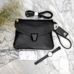 กระเป๋าแฟชั่น แบรนด์ KEEP Clutch bag with strap Size L รุ่นหายาก