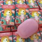 สบู่เฮนโตะ‼ สบู่ชูก้าเค้ก sugar cake hento white soap ส่งฟรี EMS