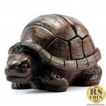 รูปปั้นหิน - เต่าตลับ (Thai Sculpture Stone Reptile Animal Turtle)