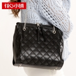 พร้อมส่งกระเป๋าสะพายแฟชั่นเกาหลี Axixi-11883 ของแท้ สีดำ
