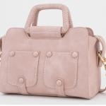 กระเป๋าแฟชั่น เกาหลี สีชมพู