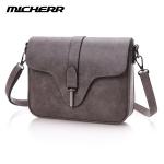พร้อมส่งกระเป๋าผู้หญิงสะพายข้างใบเล็ก แฟชั่นเกาหลี ยี่ห้อ MICHERR แท้ รหัส AL-8831 สีเทา