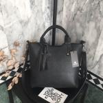 กระเป๋าแฟชั่น แบรนด์ Keep strap saffiano leather handbag