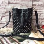 กระเป๋าแฟชั่น Charles & Keith รุ่น studded bucket bag