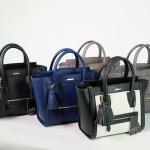 กระเป๋าแฟชั่น แบรนด์ Amory รุ่น lady bag city หนังแท้ 100% มี 5 สี ดำ กรม ขาวดำ กากีอมเขียว เทา
