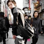 พร้อมส่ง กระเป๋าผู้ชายคาดไหล่ คาดหลัง แฟขั่นเกาหลี รหัส Man-633 สีดำ 1 ใบ