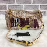กระเป๋าแฟชั่น แบรนด์ ZARA รุ่นสุดชิค ปักเลื่อมลาย BANANA